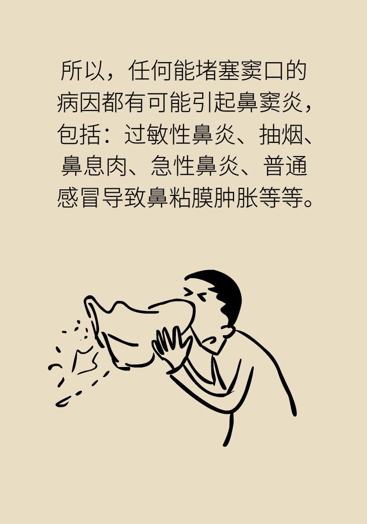 为什么鼻窦发炎,疼的却是头、眼和牙?